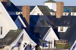 dachy uszkodzone Obraz Royalty Free