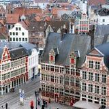 Dachy w Ghent Fotografia Stock
