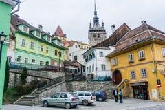 Dachy w Transylvania, Sibiu, Rumunia zdjęcie stock