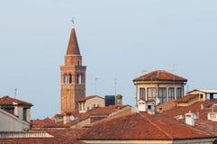 Dachy w Vicenza Zdjęcia Royalty Free