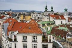 Dachy w Wiedeń Zdjęcie Royalty Free