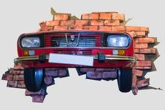 Dacia 1300 αναδρομικό αυτοκίνητο Στοκ φωτογραφία με δικαίωμα ελεύθερης χρήσης