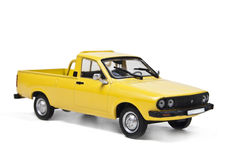 Dacia 1300 pick-up. Model of car, dacia 1300 pick-up, on a white background Stock Photography