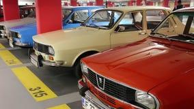 Dacia 1300 bilar arkivfilmer