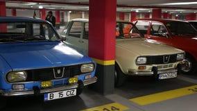 Dacia 1300 coches almacen de video