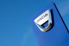 Dacia dealership sign Royalty Free Stock Photography