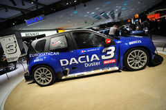 Dacia Duster at the Auto Salon Stock Images