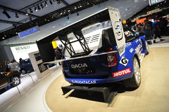 Dacia Duster for rally trophy Royalty Free Stock Photography