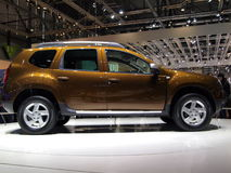 Dacia Duster World Premiere Royalty Free Stock Images