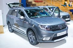 Dacia Logan MCV Stepway Stock Photos