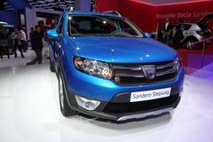 The Dacia Sandero Stepway Stock Photography