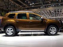 Dacia Staubtuch-Weltpremiere lizenzfreie stockbilder