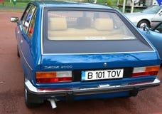 Dacia 2000 tillbaka sikt Arkivfoto