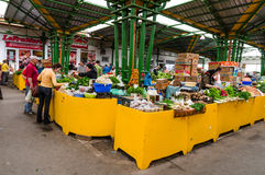 Dacia vegetables marketplace in Brasov, Romania Royalty Free Stock Photography