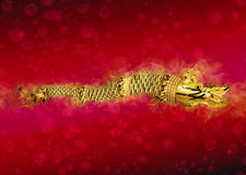 Dacian Draco Red Flag. The Dacian Draco Red Flag Royalty Free Stock Photos