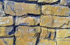 Dacian ruiny, zakończenie w górę wizerunku obrazy royalty free