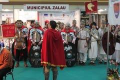 Dacians e Romani Immagini Stock