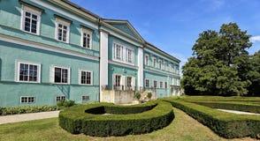 Free Dacice Castle With Green-blue Facade In Summer Royalty Free Stock Photos - 139897508
