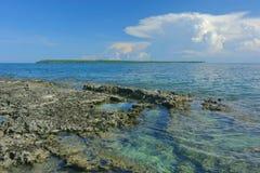 Daco-Insel lizenzfreie stockfotos
