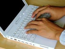 Dactilografia Imagem de Stock