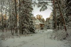 Dacza Rosyjskim malarzem Ilya Repin Zdjęcia Royalty Free