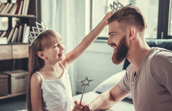 Free Dad And Daughter Royalty Free Stock Images - 97301799