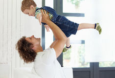 Free Dad And Young Boy Stock Photo - 10329600