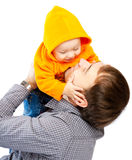 Dad and baby Stock Photography