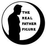 Dad bod the real father figure vector illustration