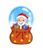 Dad Christmas Royalty Free Stock Photo