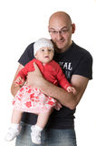 Dad and daughter. Royalty Free Stock Photos