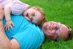 Dad and daughter Stock Photos