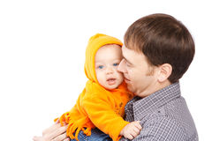 Dad with daughter Royalty Free Stock Photography