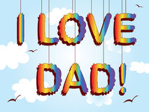 Dad day Royalty Free Stock Photography