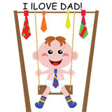 Dad day! Stock Images