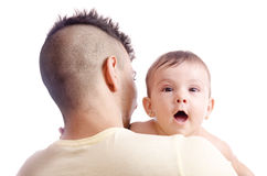 Dad hairstyle Royalty Free Stock Photo