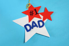 Dad Number 1!. Dad is my number one Stock Image