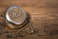 Dad`s Pocket Watch Royalty Free Stock Photos