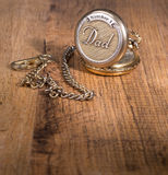 Dad`s Pocket Watch Royalty Free Stock Photography