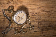 Dad`s Pocket Watch Stock Image