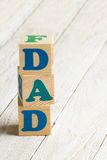 Dad sign Royalty Free Stock Images