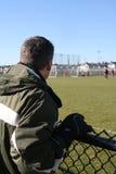 dad soccer Στοκ εικόνα με δικαίωμα ελεύθερης χρήσης