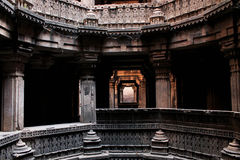 Dada hari Step well india. Gujarat architecture heritage Royalty Free Stock Photos