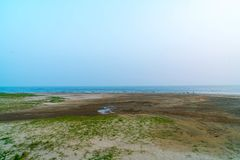 Dadaepo beach in Busan Royalty Free Stock Photography