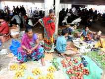 Dadar flower market Mumbai! Royalty Free Stock Image
