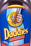 Daddies Brown Sauce Royalty Free Stock Photography