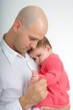 Daddy e figlia 3 Fotografia Stock