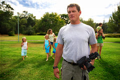 Daddy Photographer Stock Photos