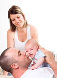 Daddy play Royalty Free Stock Image