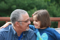 Daddy's Girl Royalty Free Stock Photo
